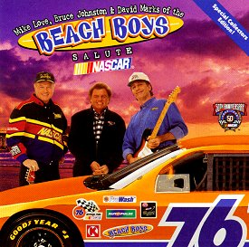 The Beach Boys salute NASCAR